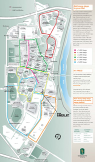 Walking Map of Campus